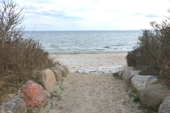 Ostsee-Strandzugang