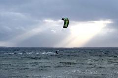 Pelzerhaken-Strand-Kite-Surfer