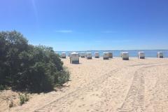 Strandkorb-Strand-Pelzerhaken