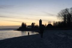 Strandspaziergang-Pelzerhaken-Leuchtturm