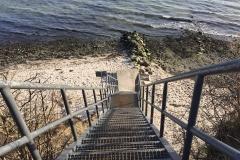 Treppe-Steilküste